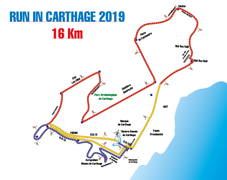 parcours run in carthage 2019